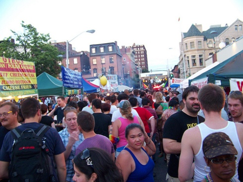 baltimore gay pride street festival pic by spike55151