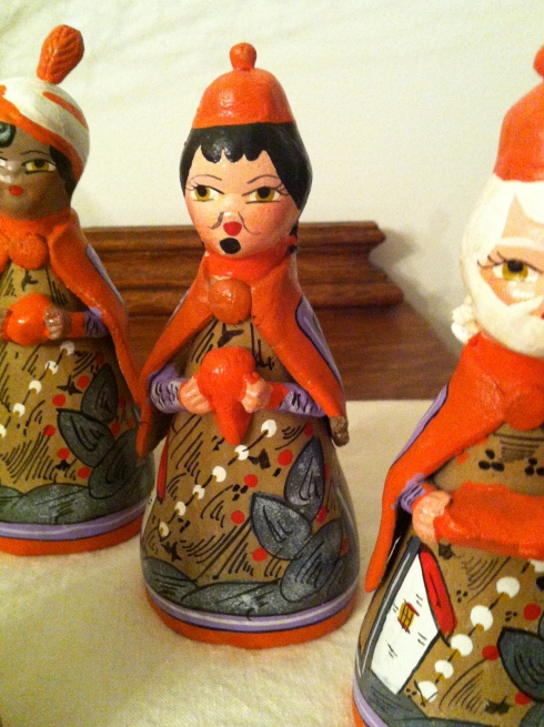 Folk Creche - Three Wise Men