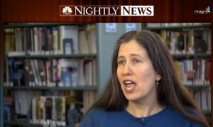 nbc nightly news seed saving rebecca newburn