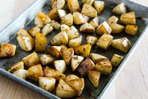 roasted turnips with white balsamic vinegar from secolari's